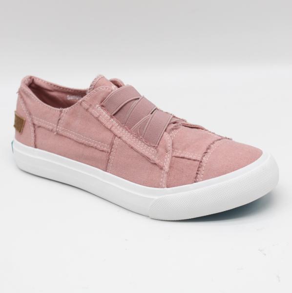Blowfish Marley Dusty Pink Canvas Sneaker
