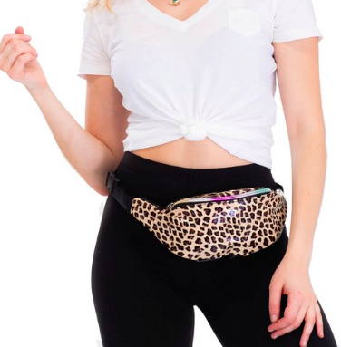 Leopard Animal Print Waist Bag