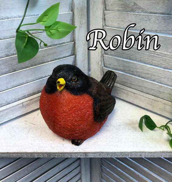 Fat Bird Critter Lawn Garden Statue