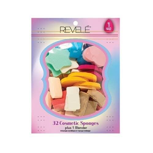 Revele 32 Makeup Sponge + 1 Blender Combo Pack