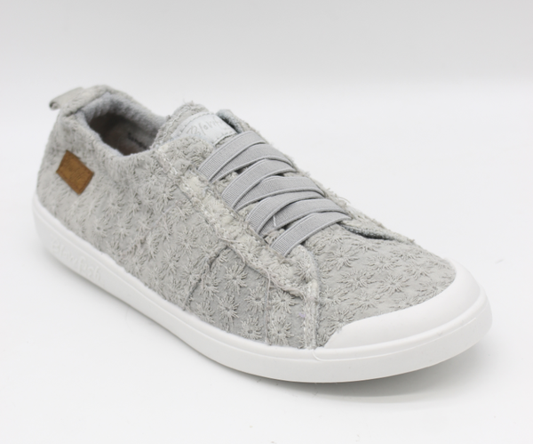 Blowfish Low Top Grey Daisy Elastic Vex Sneakers