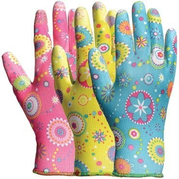 Bellingham Patterned Gardening Gloves