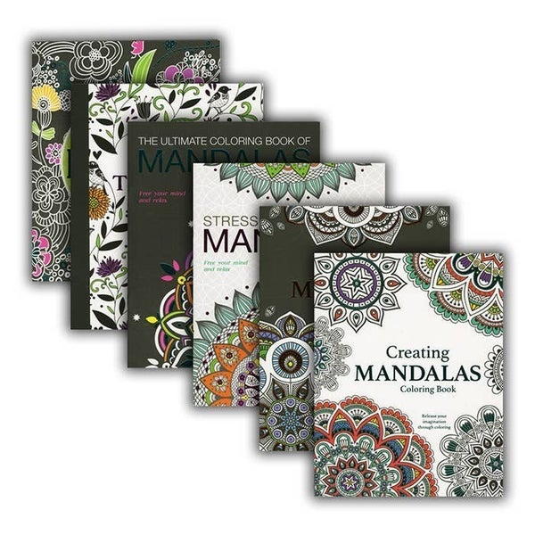 Mandalas Coloring Book for Adults