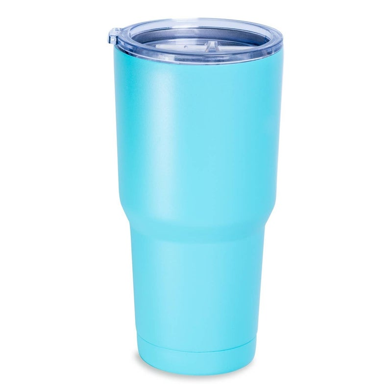 30oz Powder Coated Stainless Steel Tumbler
