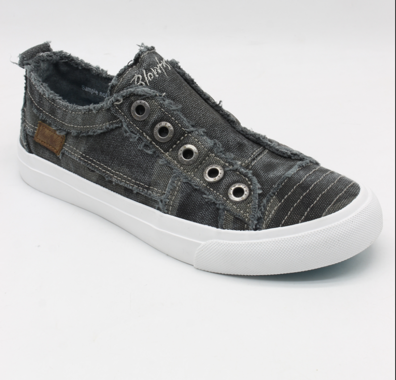 Blowfish Play Grey Camo Low Top Canvas Sneakers