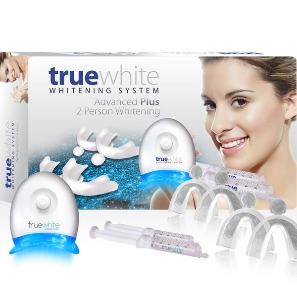 TrueWhite Advanced Plus LED Teeth Whitening System - 2 Person