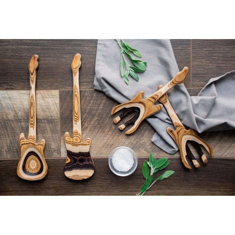 Island Bamboo 9in Guitar Salad Hands