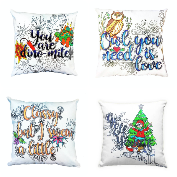 Make It Your Own Throw Pillow Cover
