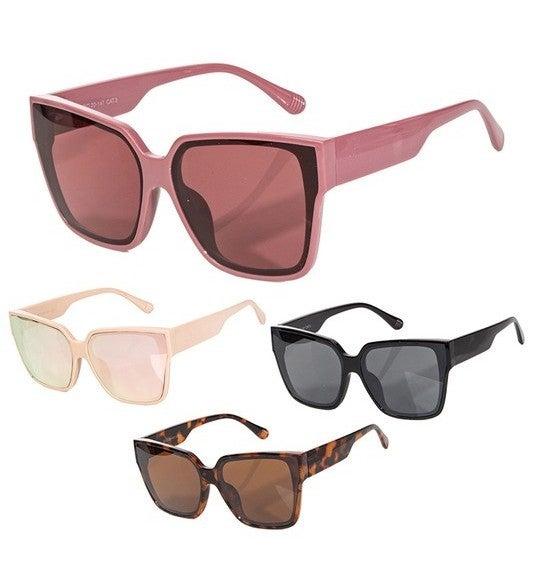Square Wayfarer Fashion Sunglasses