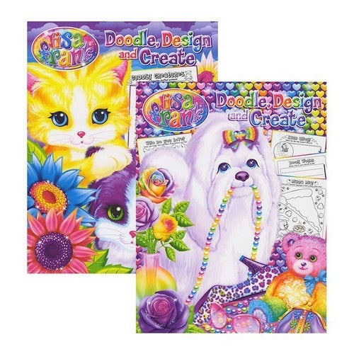 Lisa Frank Doodle, Design, and Create Activity Book