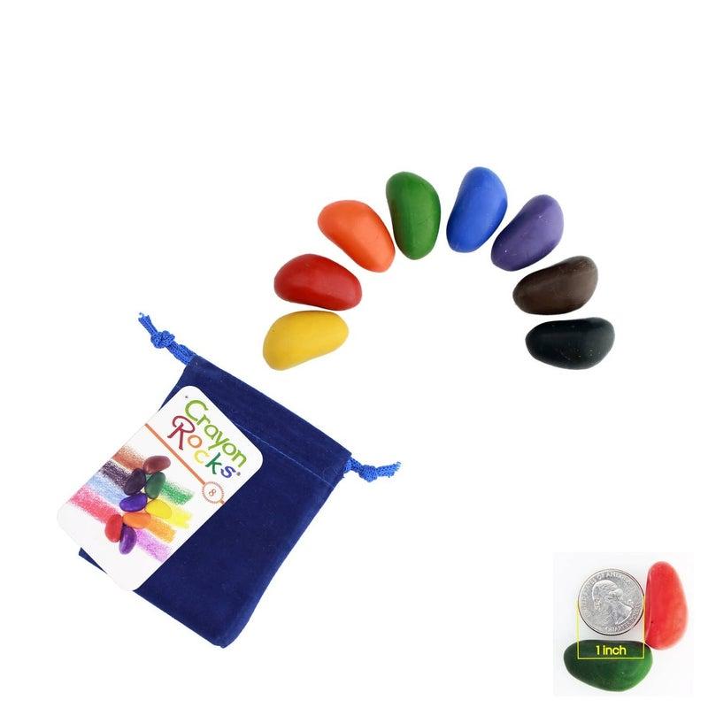 Crayon Rocks - 8 Pack
