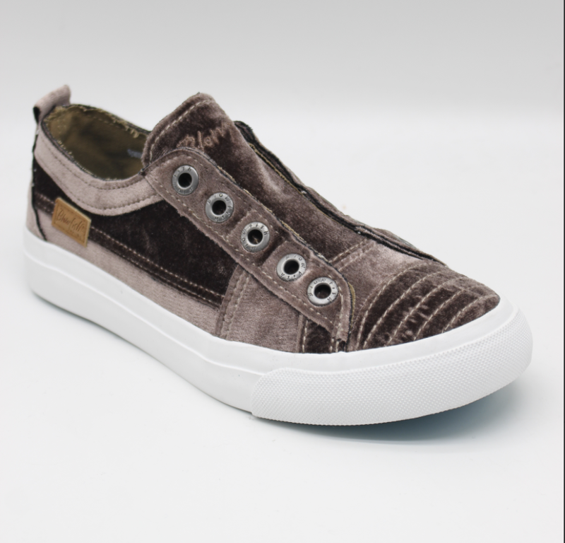 Blowfish Play Fog Velvet Low Top Canvas Sneakers
