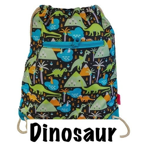 Printed Canvas Drawstring Bag