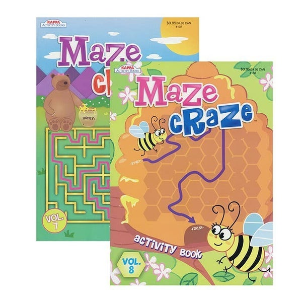 Maze Craze Activity Books