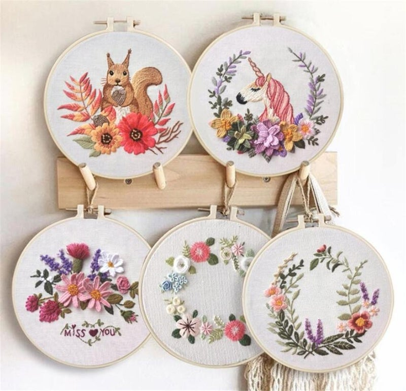 Circle Embroidery Kit