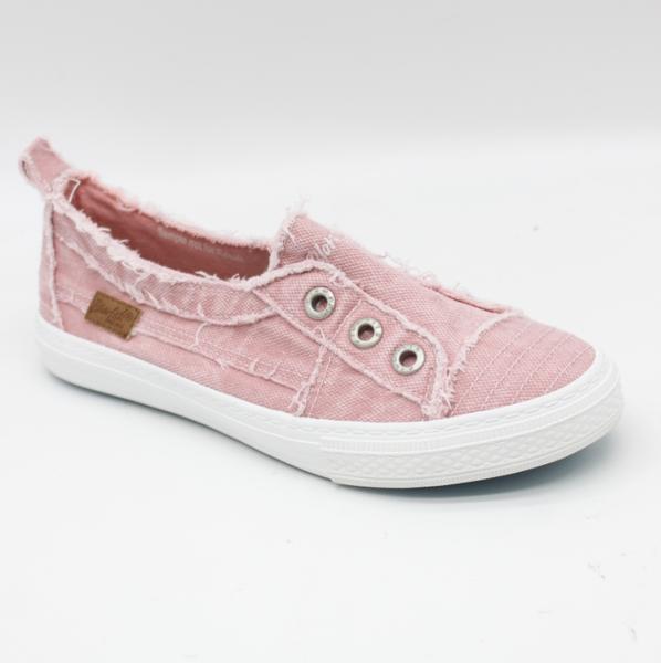 Blowfish Aussie Dusty Pink Canvas Slip On Shoe