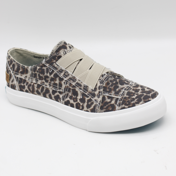 Blowfish Marley Leopard Print Canvas Sneaker