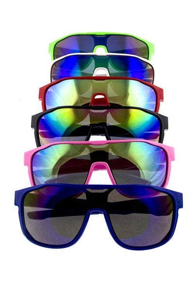 Kids Square Rimmed Sunglasses