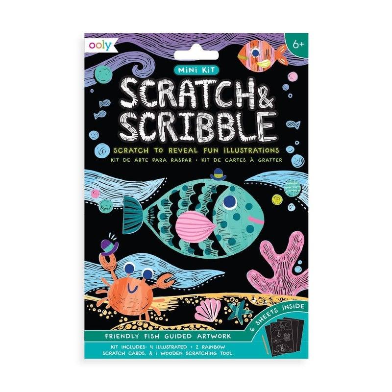 Mini Scratch & Scribble Art Kit