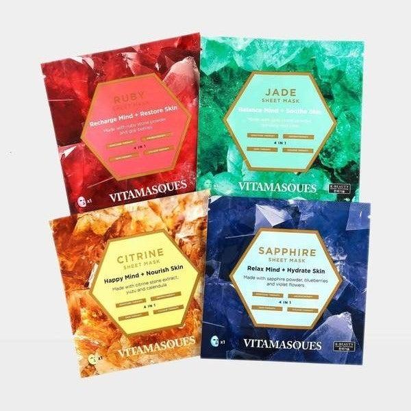 Vitamasque Gemstone Mask 4-Pack