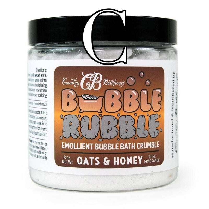 Bubble Rubble Emollient Bubble Bath Crumble