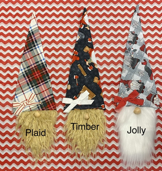 Holiday Gnome Wine Bottle Topper