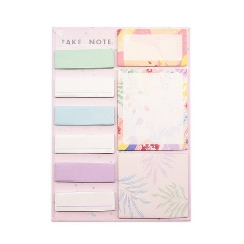 Tropical Floral Sticky Note Set