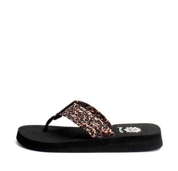 Yellow Box Leopard Soleil Fashion Sandals