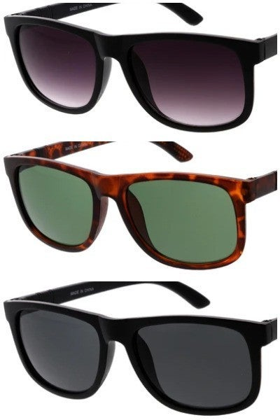 Rounded Square Fashion Sunglasses