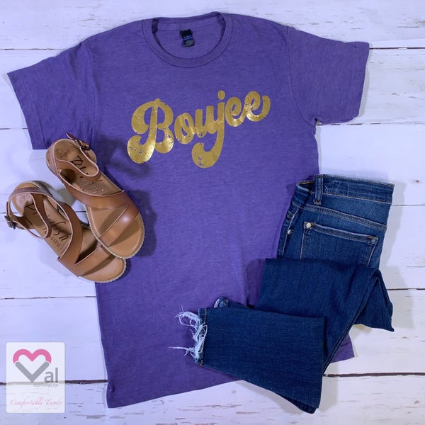 Bougie Foil Short Sleeve Graphic Tee
