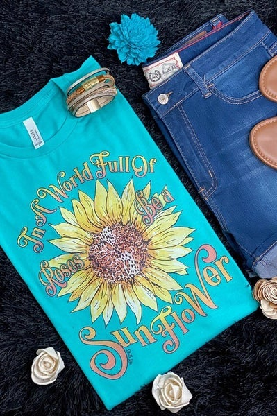 Be A Sunflower Graphic Tee