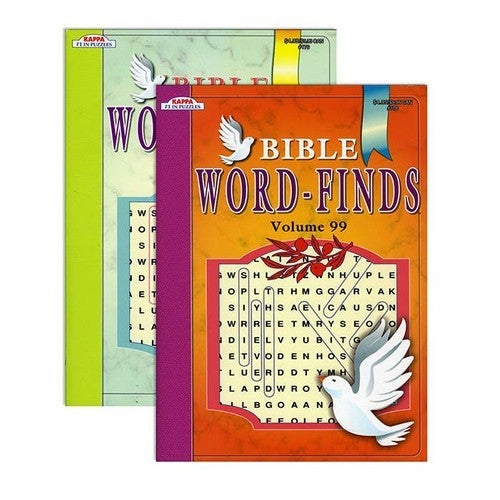 Bible Word Finds Puzzle Book