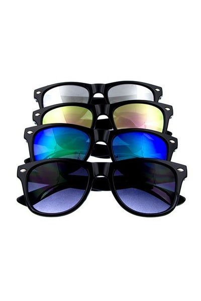 Kids Horned Sunglasses with Mirrored Lens
