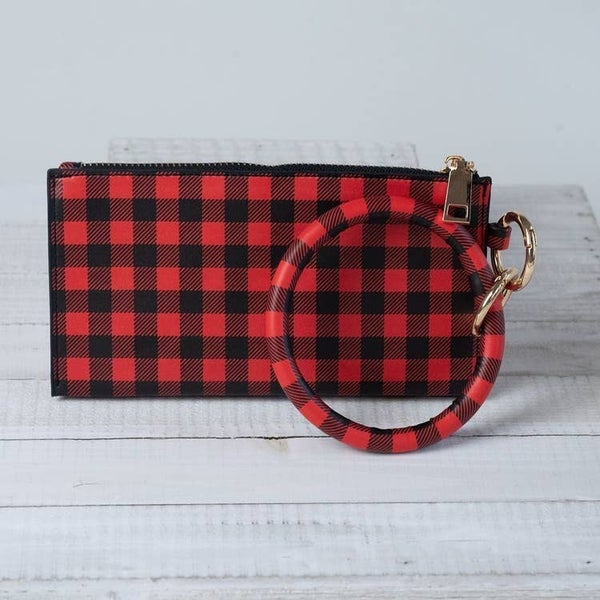 Wristlet with Keyring Bangle-No Tassel