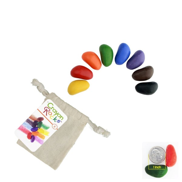Crayon Rocks - 8 Pack