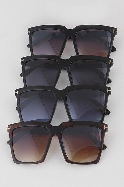 Simple Retro Square Fashion Sunglasses