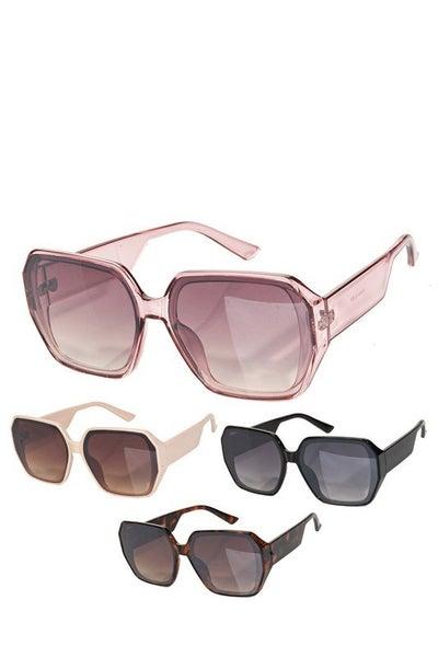 Chunky Square Fashion Sunglasses
