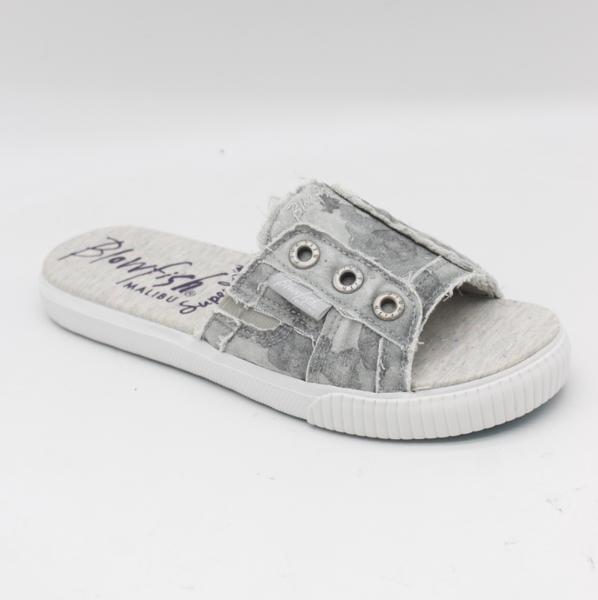 Blowfish Fresco Gray Splatter Camo Slide