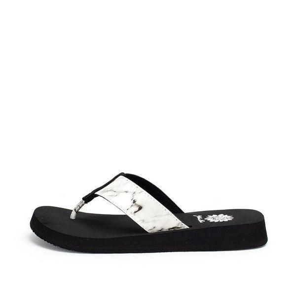 Frugi Black & White Flip Flops