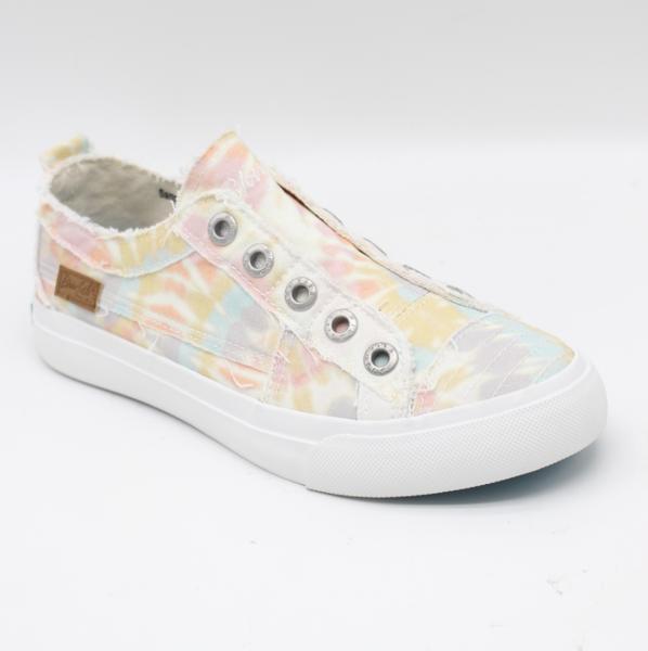 Blowfish PlayBabydoll Tie Dye Low Top Canvas Sneakers