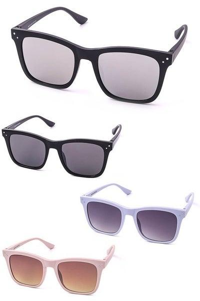 Wayfarer Square Horned Fashion Sunglasses