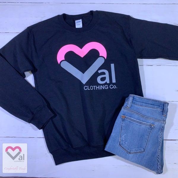 Val Logo Pullover Sweatshirt