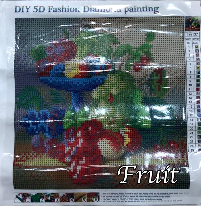 30x30cm Assorted Diamond Painting Kit