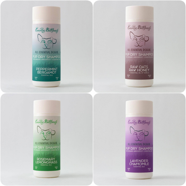 All Essential Doggie Pup Dry Shampoo