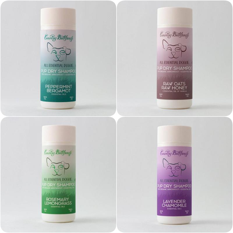 All Essential Doggie Pup Dry Shampoo