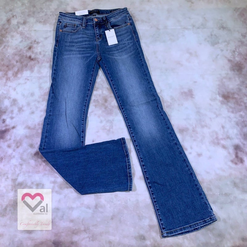Judy Blue Medium Wash Long Bootcut Jeans