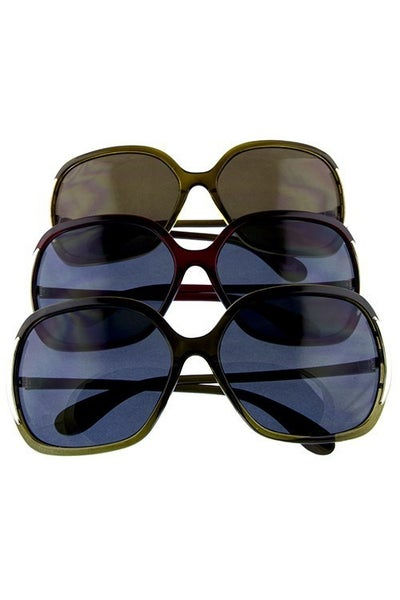 Square Glamour Fashion Sunglasses