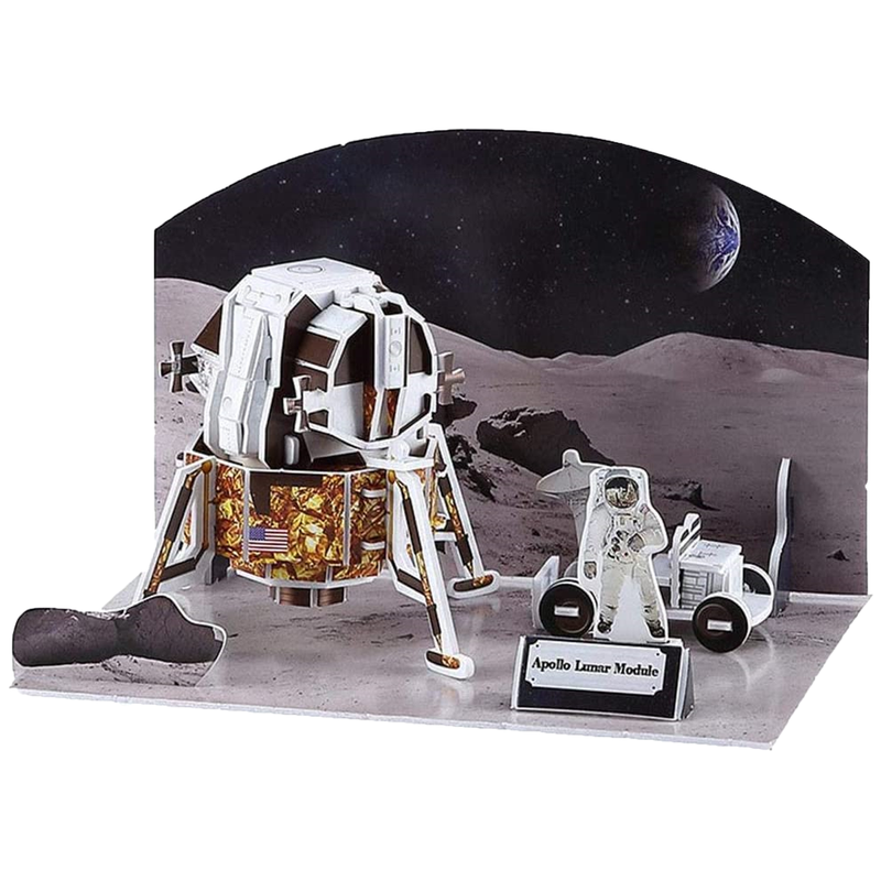 3D Space-Themed Puzzles
