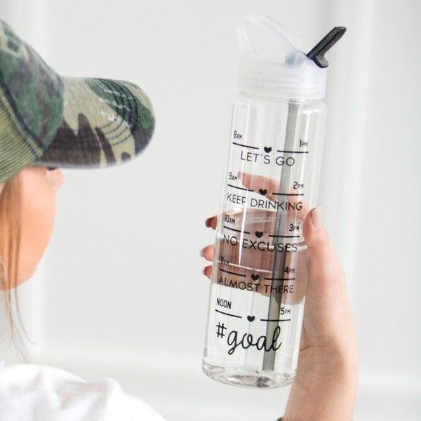 Water Intake Tracking Water Bottles