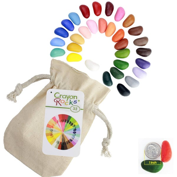 Crayon Rocks - 32 Pack